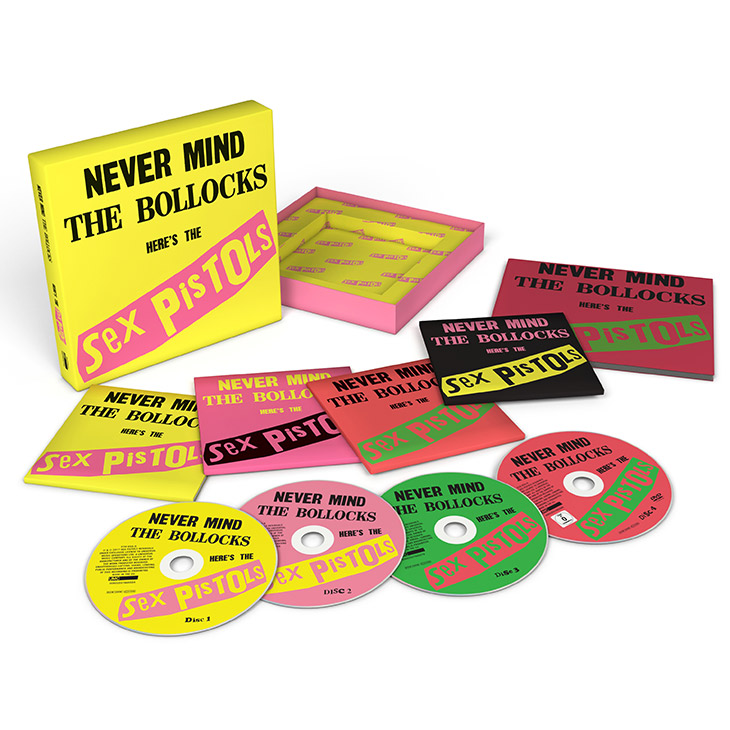 Never Mind The Bollocks Super Deluxe Reissue
