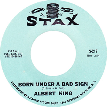 Albert King Born Under A Bad Sign Single Label