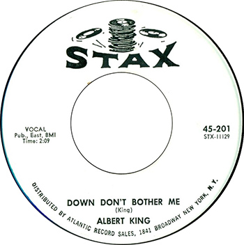 Albert King Don't Bother Me Single Label