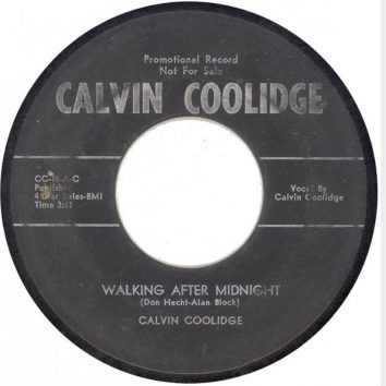 Calvin Coolidge Walking After Midnight