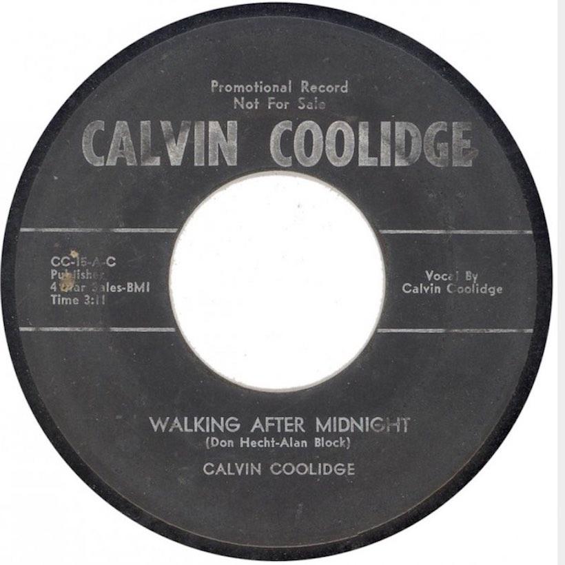 Calvin Coolidge Walking After Midnight