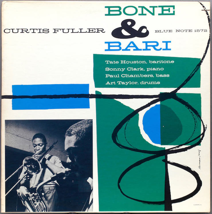 Curtis Fuller Bone & Bari Album Cover
