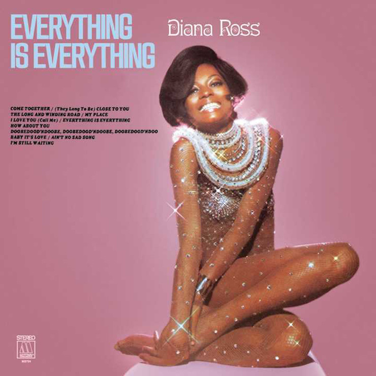 Diana Ross Everything Is Everything Album Cover