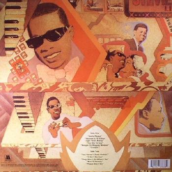 FFF back cover Stevie Wonder