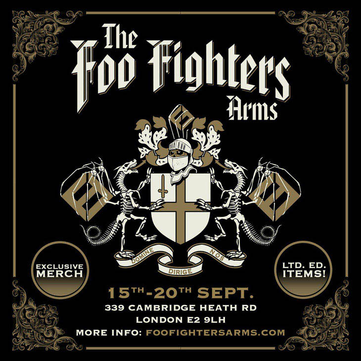 Foo Fighters Set To Open London Pub, Offer New Merchandise