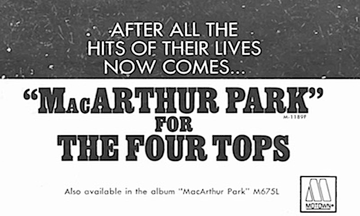 Four Tops Take A Stroll Through 'MacArthur Park' | uDiscover