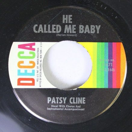 He Called Me Baby Patsy Cline