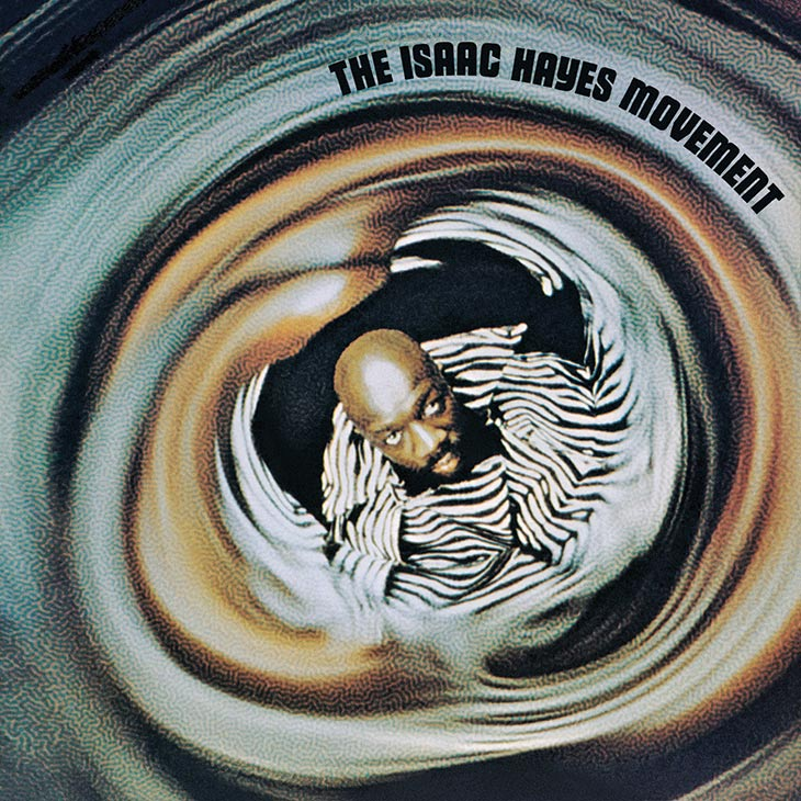 Isaac Hayes The Isaac Hayes Movement Album Cover