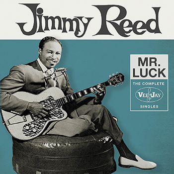 Jimmy Reed Mr Luck Album Cover