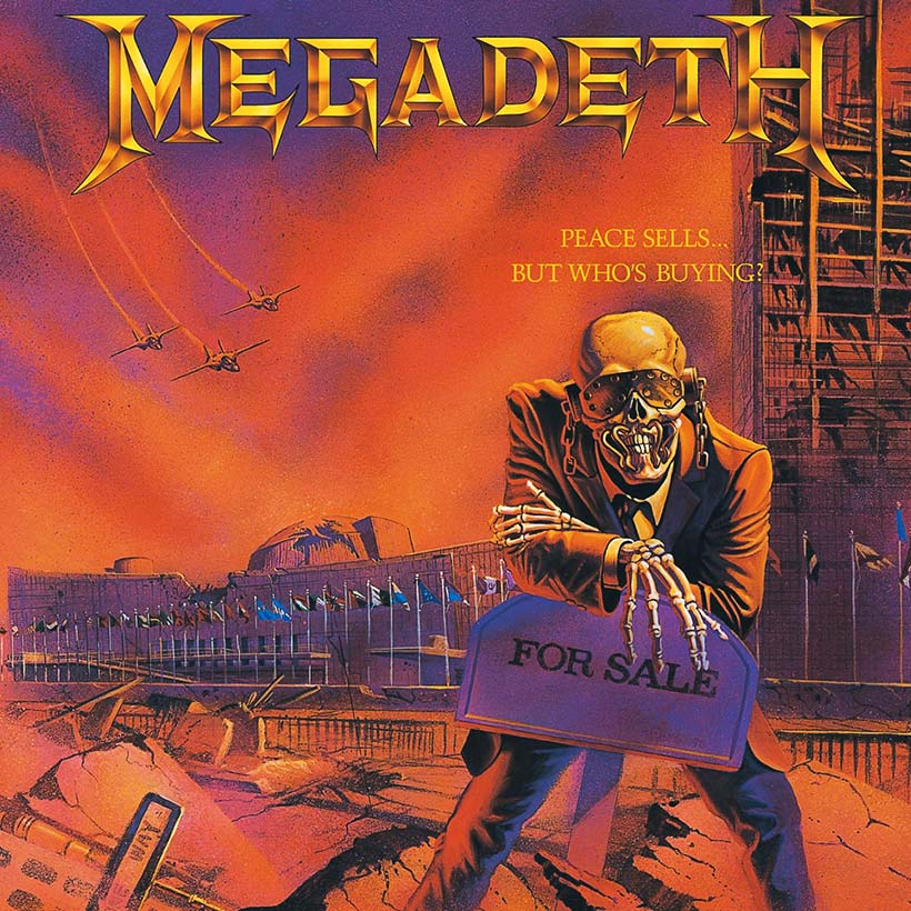 Megadeth Peace Sells But Who's Buying album cover web optimised 820