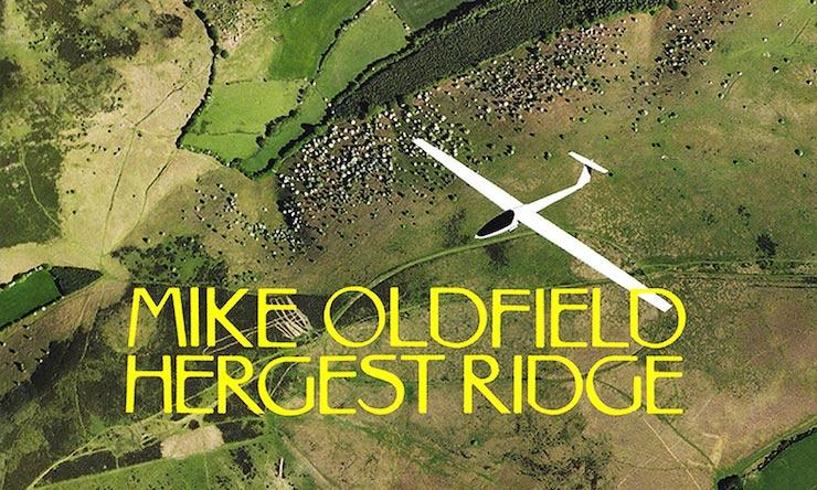 Mike Oldfield Hergest Ridge Field Cover