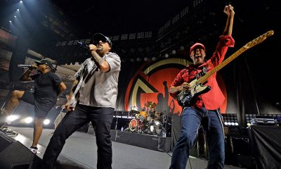 Prophets Of Rage photo by Kevin Winter and Getty Images