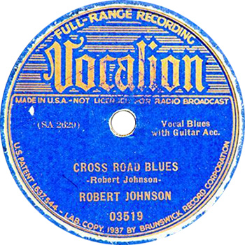 Crossroad Blues Record Lablel