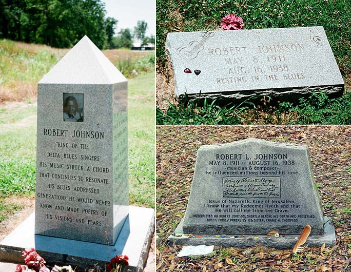 Robert Johnson Gravestone Image