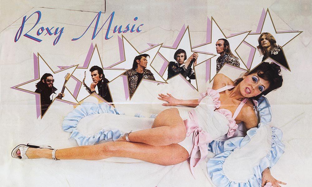 Roxy Music Album Covers Debut Album Poster - Web Optimised 1000