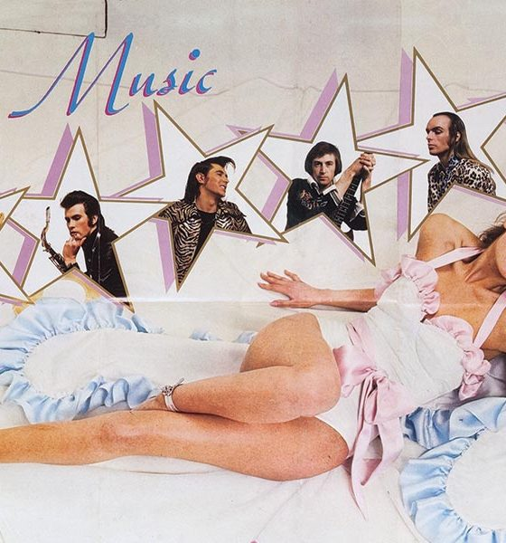 Roxy Music Album Covers Debut Album Poster - Web Optimised 1000