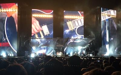 Stones Hamburg guitar