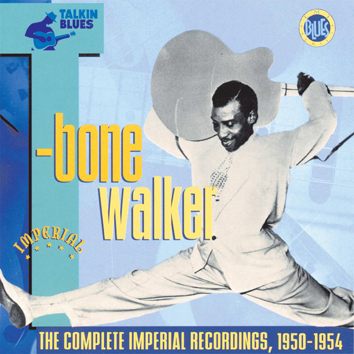 T-Bone Walker Complete Imperial Recordings Album Cover - Talkin Blues Logo