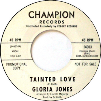 Tainted Love Gloria Jones