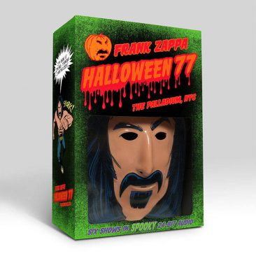 Frank Zappa's 1977 NYC Shows Revisited For 'Halloween 77' Costume Box Set