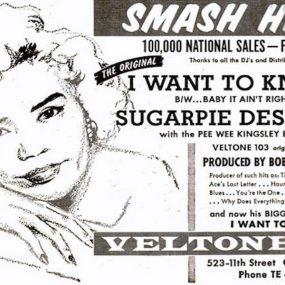 Sugar Pie DeSanto I Want To Know