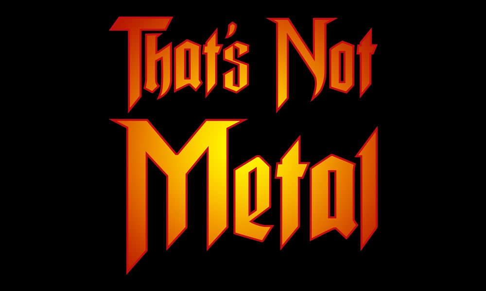 Thats Not Metal logo
