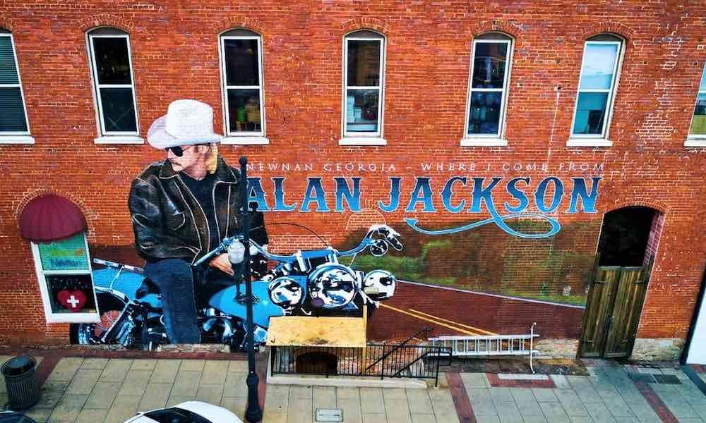 Alan Jackson mural courtesy Alan Jackson