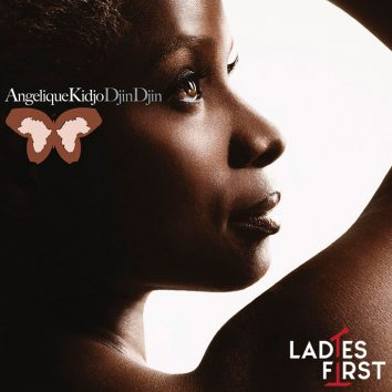 Angelique Kjido Djin Djin album cover with logo