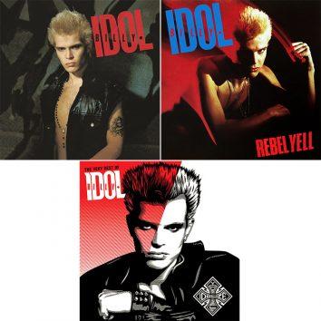 Landmark 1980s Billy Idol Albums