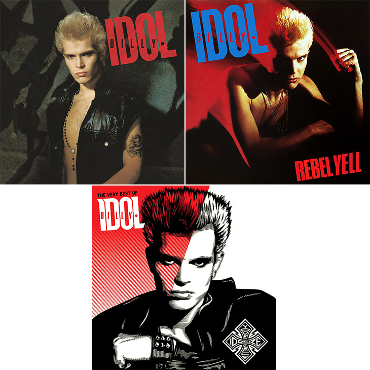 Landmark 1980s Billy Idol Albums
