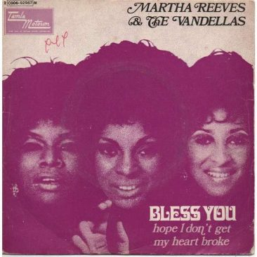 Martha & Vandellas Make Pop Farewell With 'Bless You'