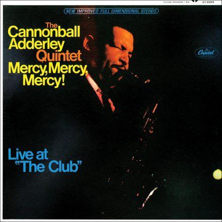 Cannonball Adderley Quintet Mercy Mercy Mercy Album Cover web optimised 820