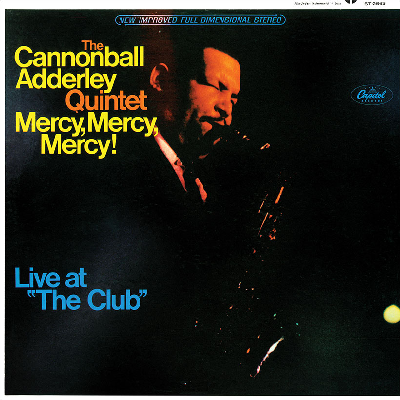 Cannonball Adderley Quintet Mercy Mercy Mercy Album Cover web optimised 820
