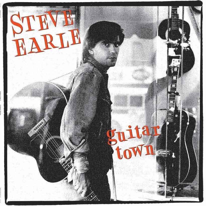 Image result for steve earle guitar town images