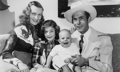 Photo of Hank Williams and family