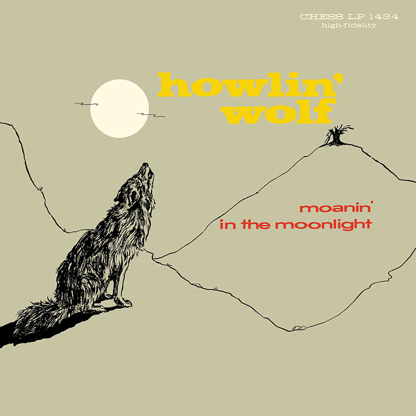 Howlin Wolf Moanin In The Moonlight Album Cover web optimised 820