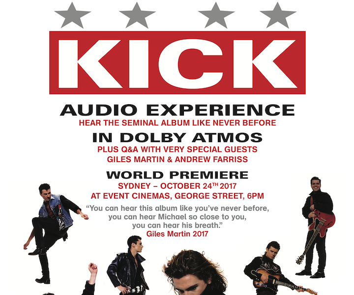INXS Announce World Premiere Of Dolby Atmos Edition Of 'Kick