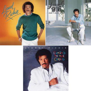 Three Landmark Lionel Richie Albums For Vinyl Release