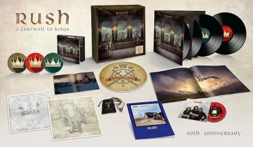 Rush Album Landmark 'A Farewell To Kings' Gets Multi-Format 40th Anniversary Update