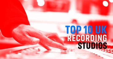Top 10 UK Recording Studios