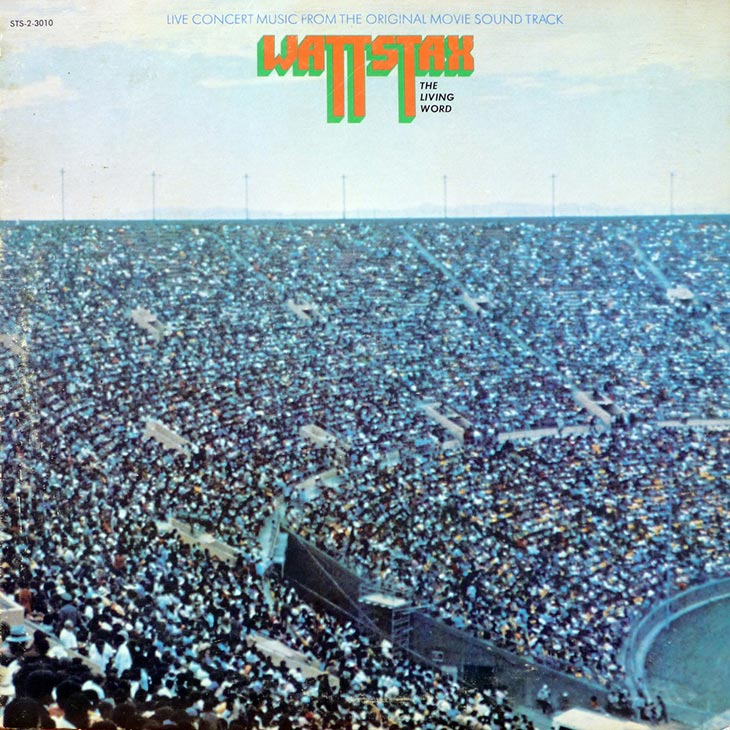 Wattstax The Living Word Album Cover web 730