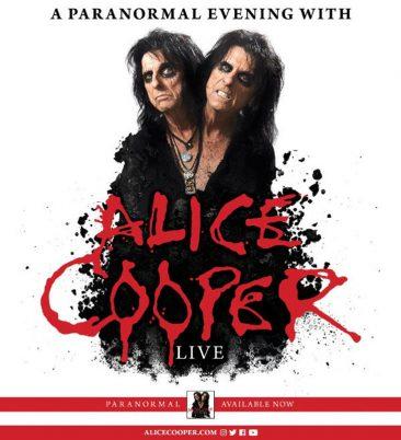 Alice Cooper Announces Spring 2018 US Tour Dates