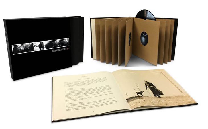 Johnny Cash\'s Acclaimed Unearthed Returns As Nine-LP Vinyl Box Set