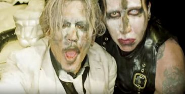 Marilyn Manson Shares New Video For 'SAY10' Featuring Johnny Depp