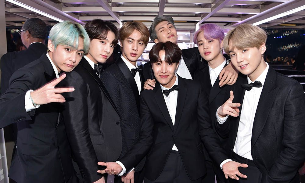 BTS, one of the best boy bands of all-time