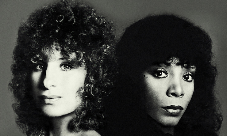 Barbra Streisand and Donna Summer