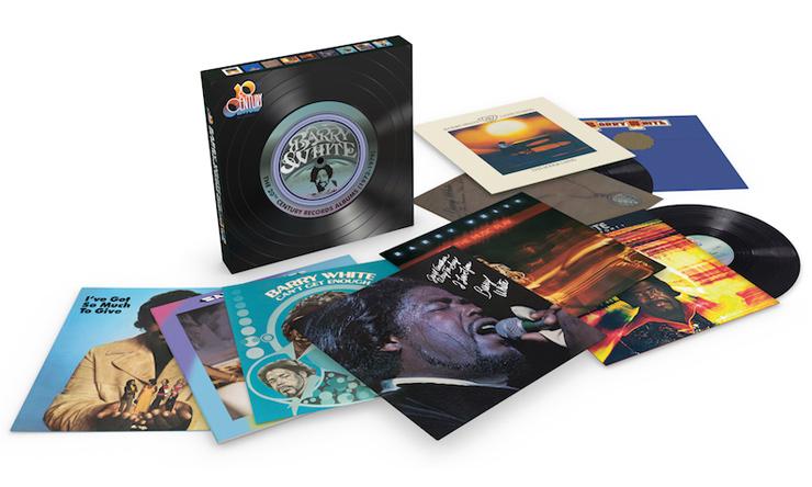 Barry White 20th Century Records Vinyl Box
