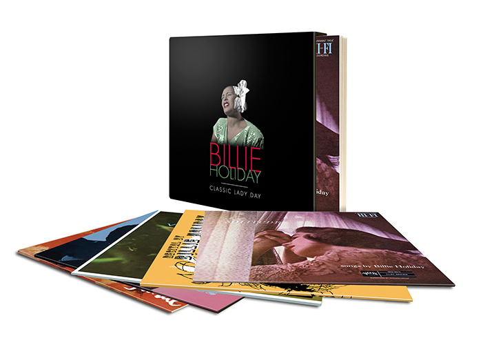Billie Holiday Verve Box Set web 730