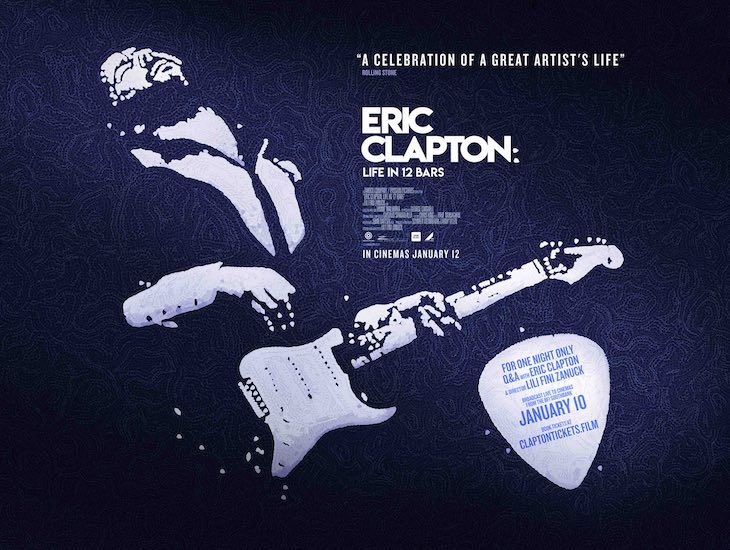 Eric Clapton & 'Life In 12 Bars' Director For London Q&A