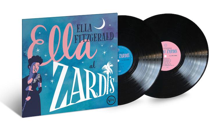 Ella Fitzgerald Ella At Zardis Vinyl 2LP Packshot